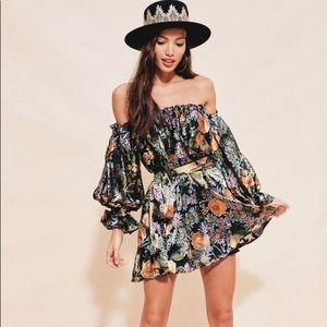 For Love and Lemons Luciana Strapless dress